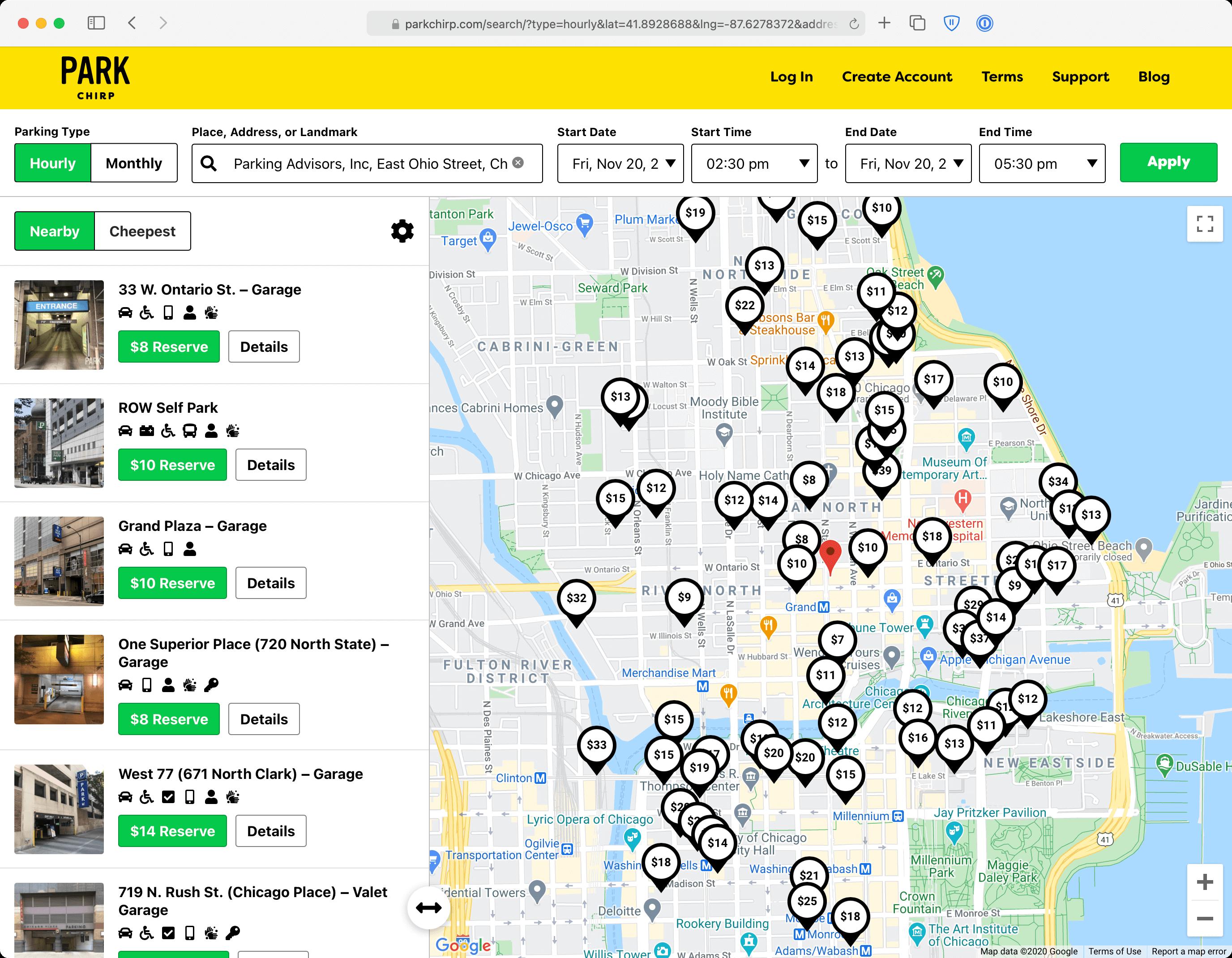 Digital Platform For Parking Industry
